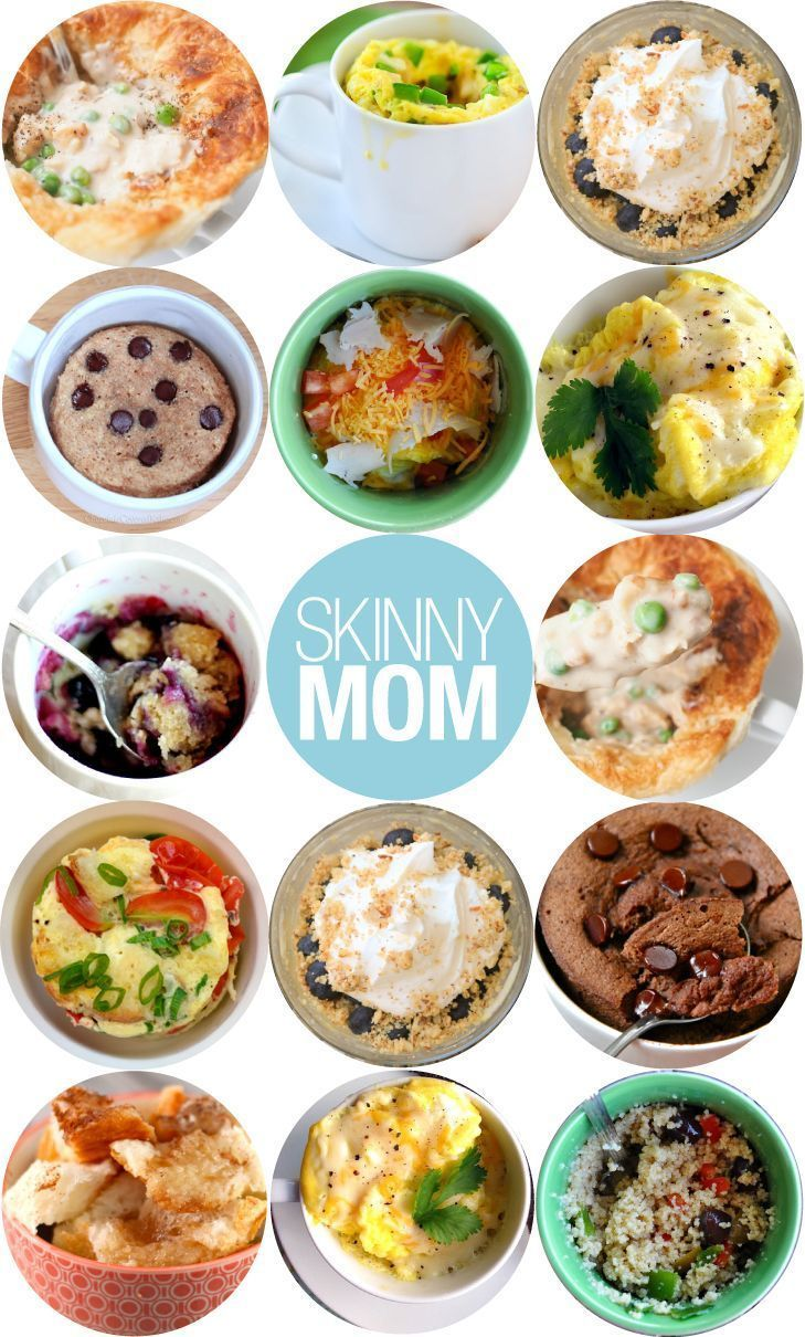 Quick desserts and entrees that dirty few dishes! Delicious meals you can make in a mug.