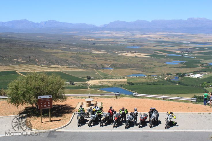 Nice view. South Africa Motorcycle Adventure with MotoQuest: http://www.motoquest.com/guided-motorcycle-tours-southafrica/