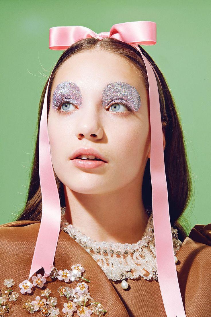 Maddie Ziegler's Sparkly Beauty Shoot