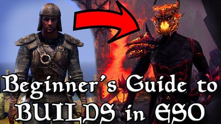 BEGINNER'S Guide to BUILDS in ESO (Elder Scrolls Online Tips for PC, Xbo...
