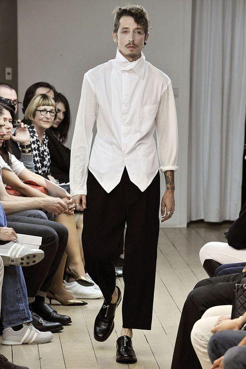 Yohji Yamamoto Spring 2011 Menswear
