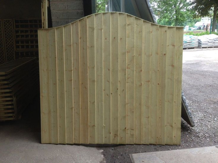 New Feather Edge Fence Panel Omega Top Tanalised Sizes 6x2 6x3 6x4 6x5 6x6 uk.picclick.com
