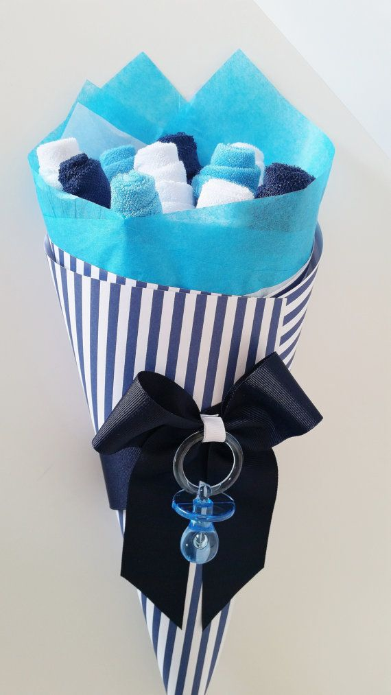 Baby Washcloth Bouquet Baby Boy Baby Gift by LilLoveBugsCreations baby shower gift