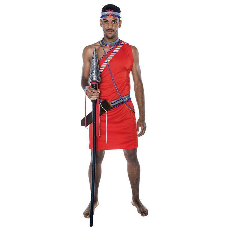 Déguisement Guerrier Tribu Masaï #déguisementsadultes #costumespouradultes #nouveauté2016