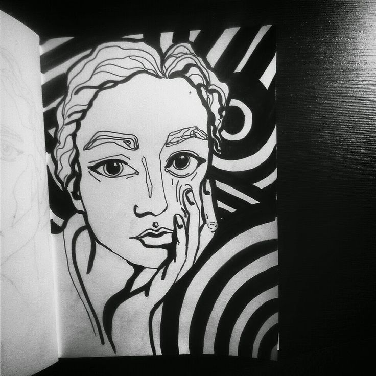 #abstract, #art, #artist, #black, #color, #draw, #eyes, #fashion, #illustration, #black, #white