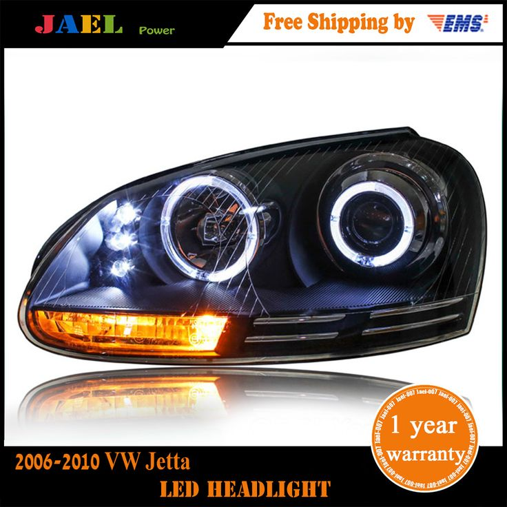 Jael Head Lamp VW Jetta Headlights 2006-2010 Jetta Mk5 LED Headlight DRL DRL Bi Xenon Lens High Low Beam Parking Fog Lamp