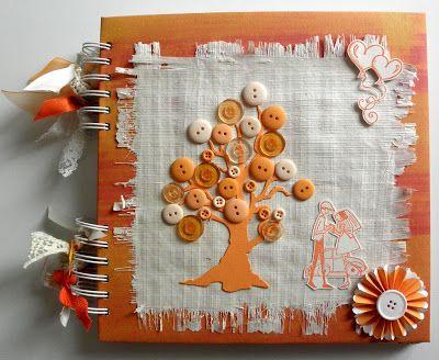 claudialand: Album Dediche Matrimonio Arancio