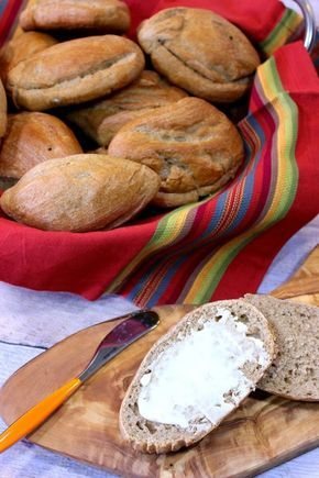 Whole Wheat Mexican Bolillos are soft on and inside and crusty on the outside. They're perfect for any type of sandwich - Kudos Kitchen by Renee