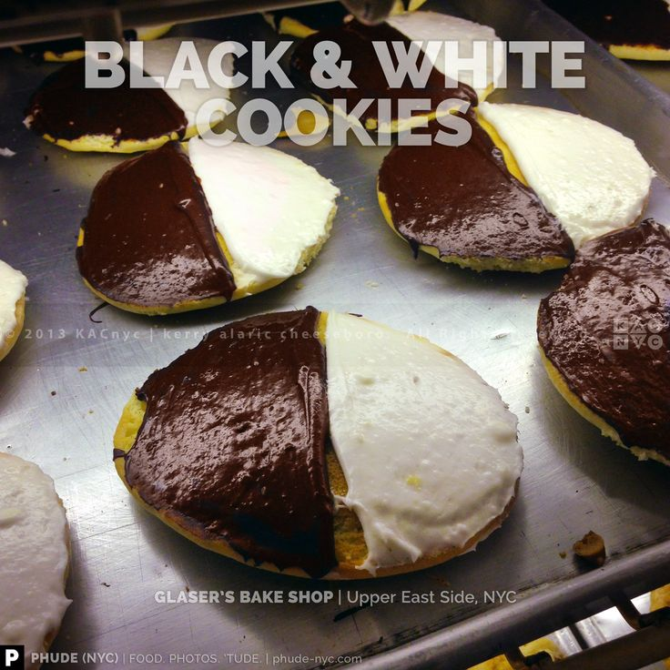 BLACK & WHITE COOKIES | GLASER'S BAKE SHOP | Upper East Side, NYC ...