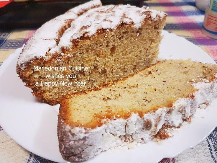 vasilopita, new year's cake, cake with coin, vasilopita recipe, василопита