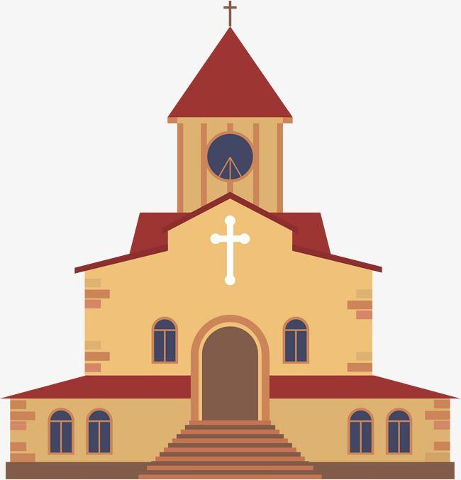 Igreja De Cafe Dos Desenhos Animados Coffee Cartoon Cartoon Building Old Catholic Church