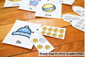TGIF! - Thank God It's First Grade!: Money Activities for Kindergarten and 1st Grade!