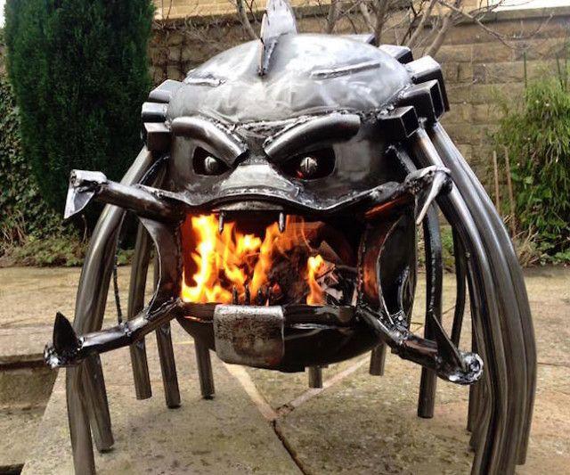 Alien Vs. Predator Wood Burning Stoves