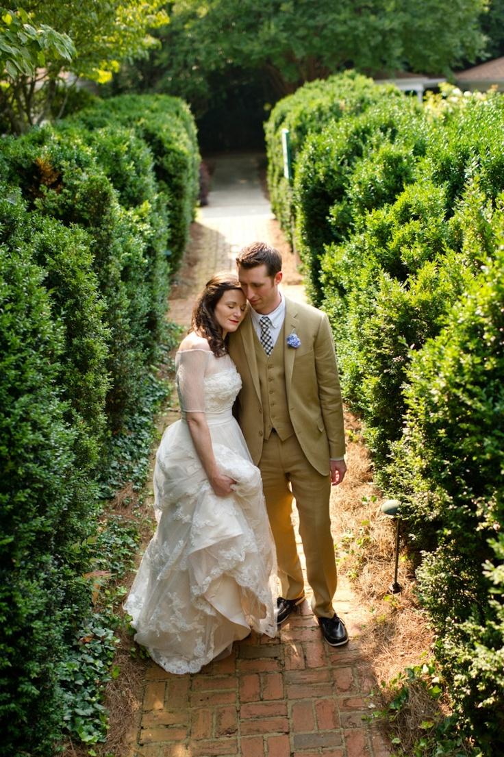 Atlanta Garden Wedding Venue Brumby Gardens In Marietta GA By The Studio B Photography