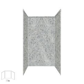 Transolid Decor Matrix Dusk/Stone Shower Wall Surround Side And Back Panels (Common: 42-In X 42-In; Actual: 72-In X 42-I