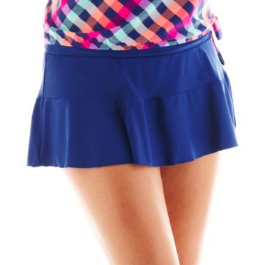 cdf2afefb2d80 Arizona Plus - Solid Skirt - JCPenney