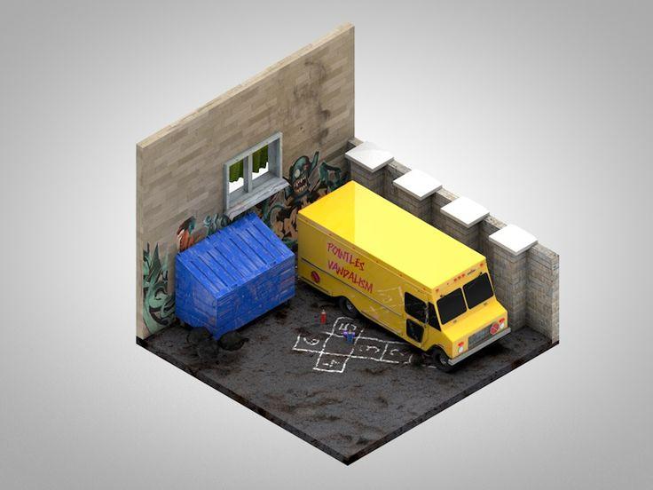 Dingy corner by Petr Kollarčík