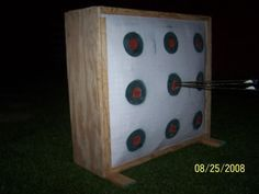 Homemade archery target, with pics!