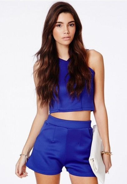 Prudence Scuba Shorts With Pockets - Shorts - Missguided