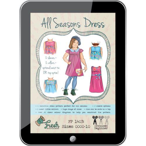 All Seasons Dress PDF Pattern