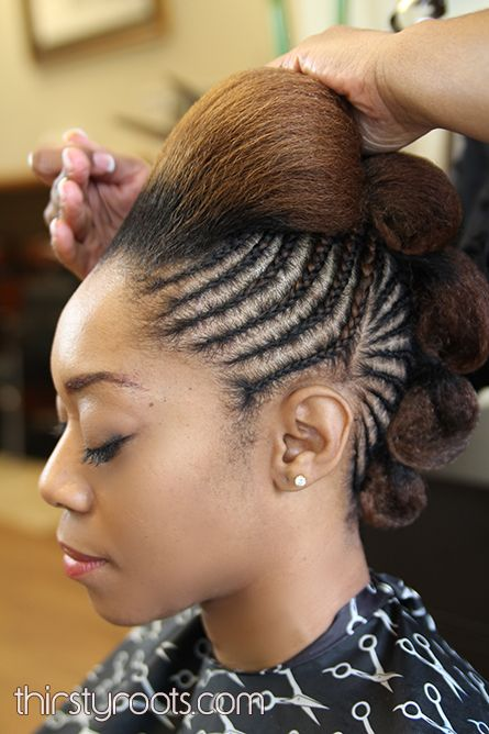 Best 25 bump hairstyles ideas on pinterest hair bump styles braided bump hairstyle by elliptical naturals pmusecretfo Gallery