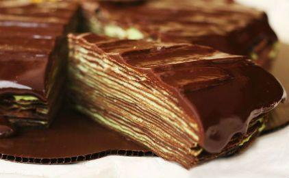 Daddy Cool!: Τούρτα σοκολάτα με κρέπες