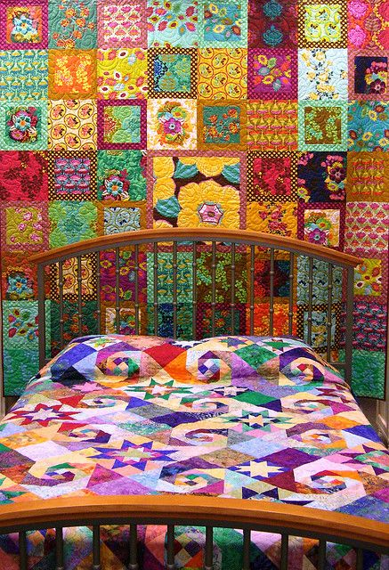 motleycrafter:    Quilt   Flickr - Photo Sharing! on We Heart It. http://weheartit.com/entry/15215379