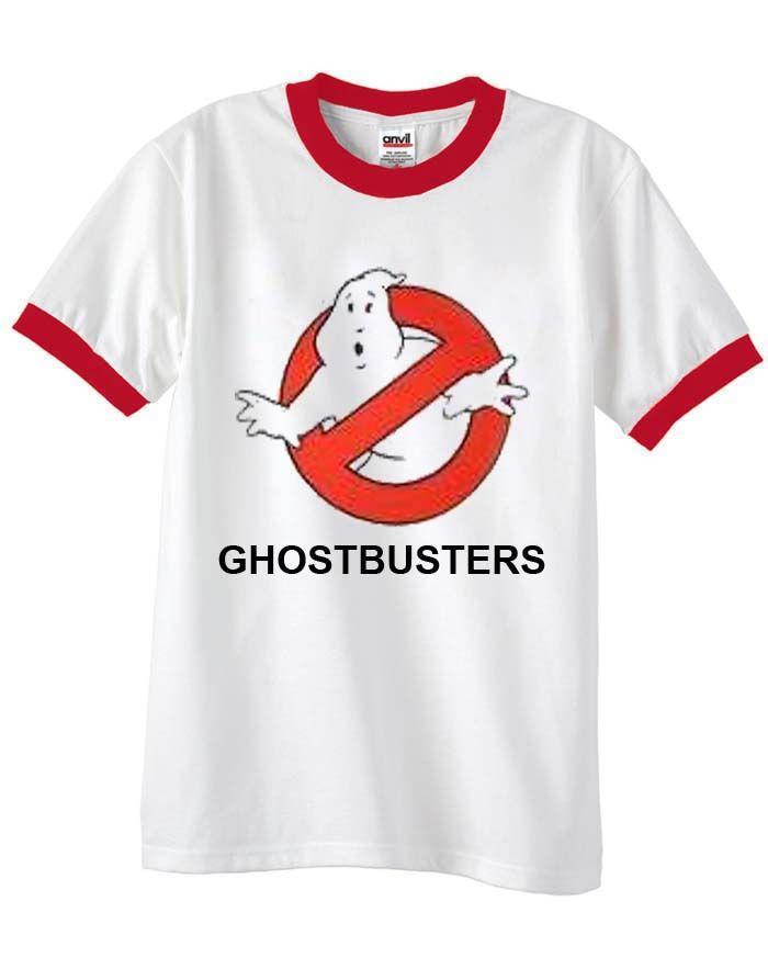 ghostbusters new unisex ringer tshirt