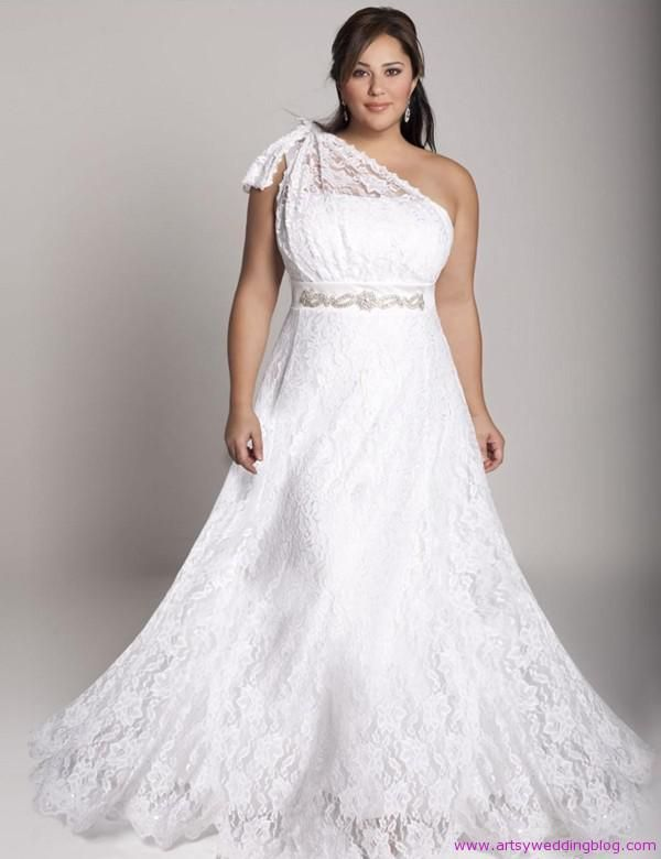 Best Sophisticated Plus Size Wedding Dresses Make You Fabulous