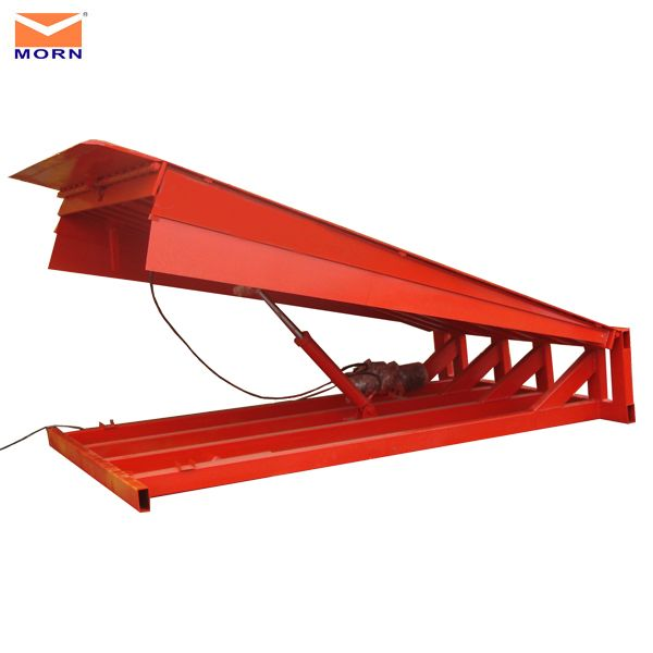 Dock Levelers are designed to provide highest product value through the top quality performance. Convenient   push button activation and first-class hydraulic technology increase the efficiency and safety of the loading/  discharging jobs.  http://www.mornlift.com/dock-ramp/stationary-dock-leveler.html