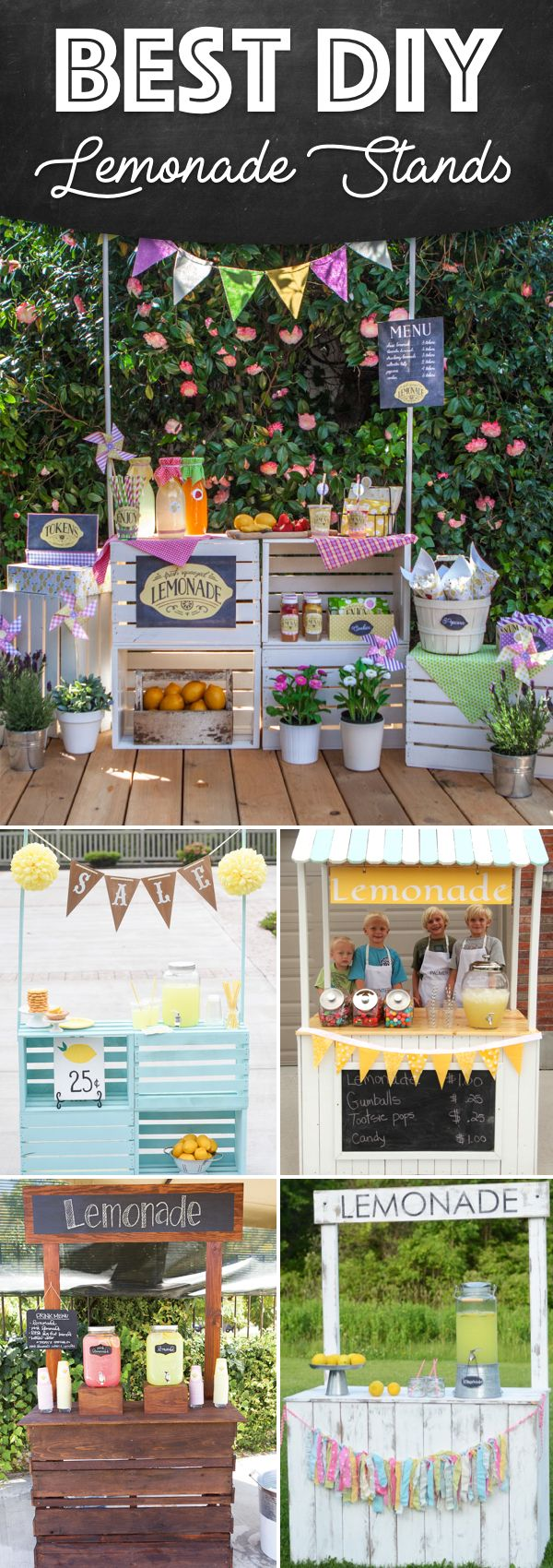 25 Effortless DIY Lemonade Stand Ideas Making Your Summer Parties Refreshing!