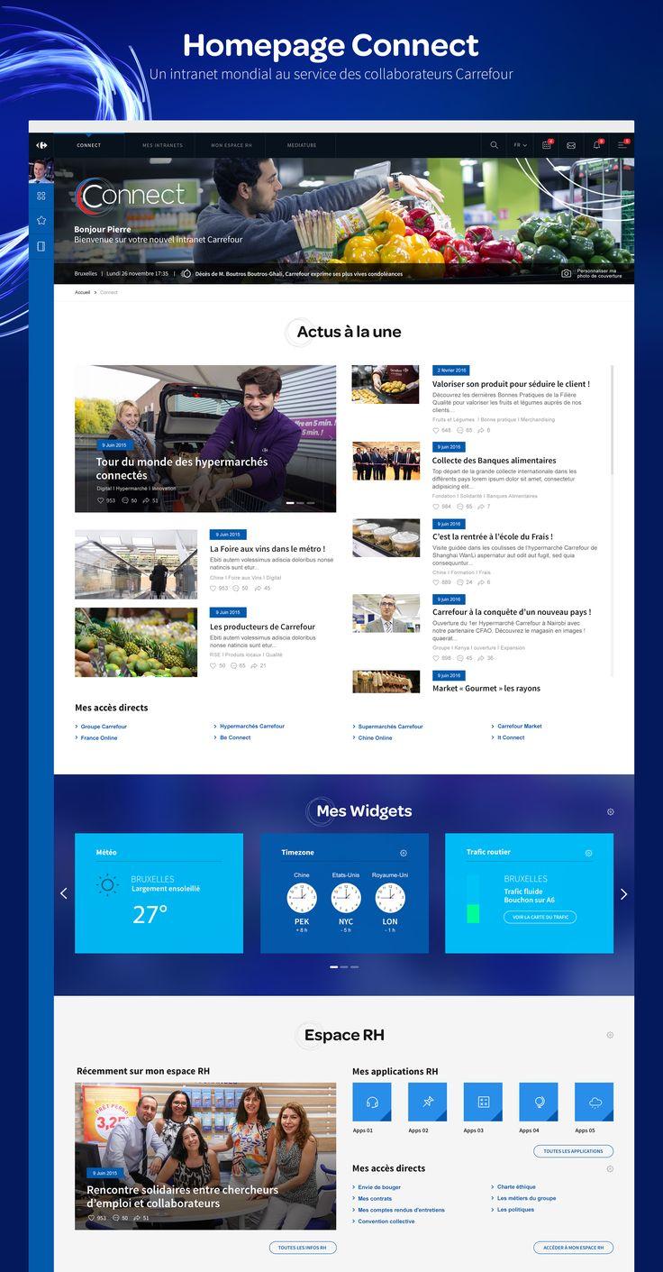 Avec Carrefour Connect, Carrefour accompagné par tequilarapido apporte une solution de communication interne recréative à tous ses employés ! Tous les collaborateurs du groupe peuvent désormais communiquer entre eux, partager des médias au quotidien mais …