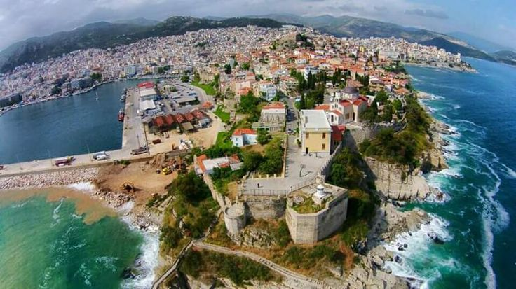 Greece # kavala #you can find amazing places for your vacation in Greece # visit us