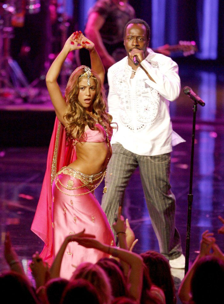 "Pin for Later: This Is What the Summer of 2006 Looked Like in Hollywood Shakira and Wyclef Jean's Song, ""Hips Don't Lie,"" Topped the Charts"