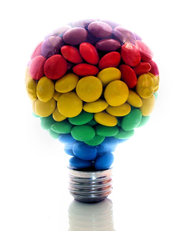 <3: Colour Idea Awesome, Colour Ideaawesom, Rainbows Candy, Rainbows Color, Posts, Lighting Bulbs, Color Life, Color Idea, Lightbulbs