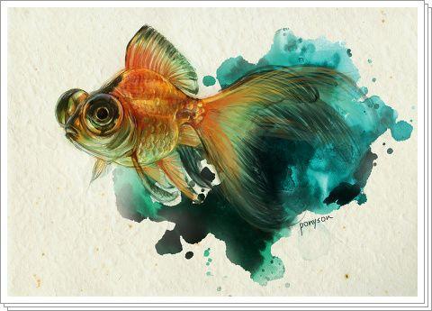 「金魚過程」/「ponyson」のイラスト [pixiv]