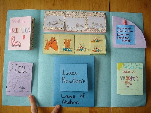 Forces and Motion Lapbook inside by jimmiehomeschoolmom, via Flickr