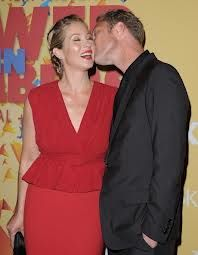 Christina Applegate and Martyn LeNoble met and married after her #mastectomy.