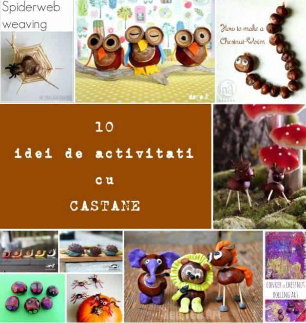 10 idei de actvitati cu castane