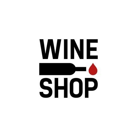 Logo Wine Shop by L_st