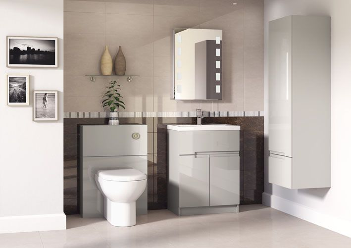 A beautiful contemporary palette choice which is fast becoming a UK favourite with matching door and cabinet colours adding extra lustre.