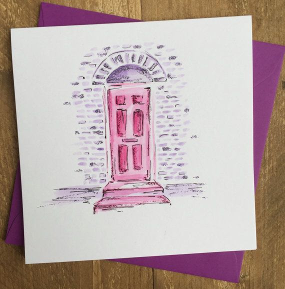 Personalised New Home card -A special welcome to a new home