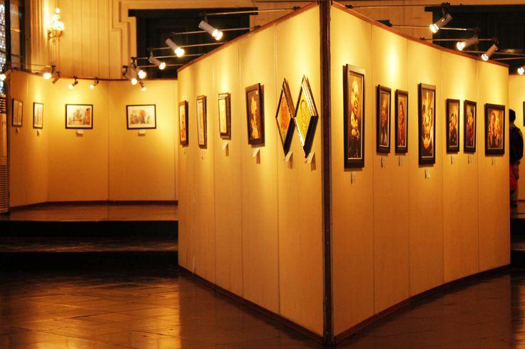 Caricature's Exhibition Display.