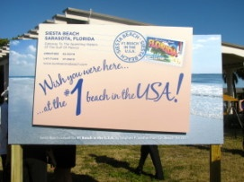 Sarasota Named Top Spring Break Destination    Sarasota not only has the best beach in America, but is the country's top spring break destination for families according to Livability.com.