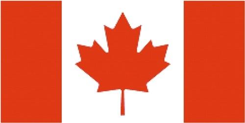 Canadian Flag cross stitch pattern