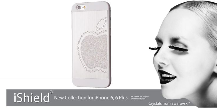 iShield case for iPhone with Crystals from Swarovski