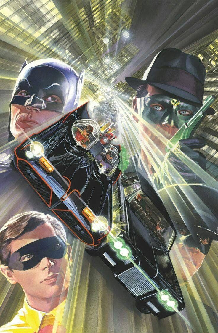 Batman meets Green Hornet by Alex Ross