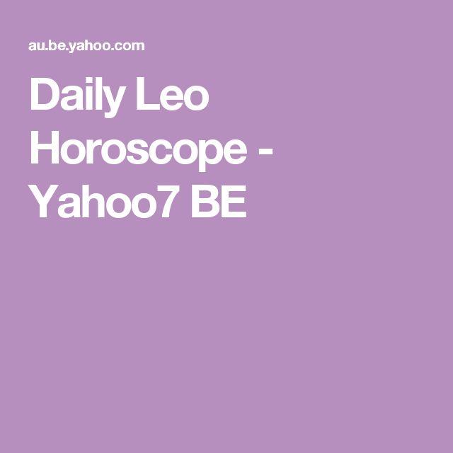 Daily Leo    Horoscope - Yahoo7 BE