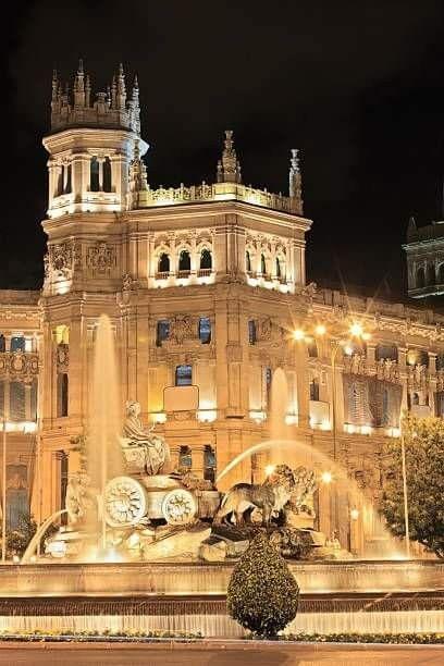 Fuente de Cibeles,Madrid