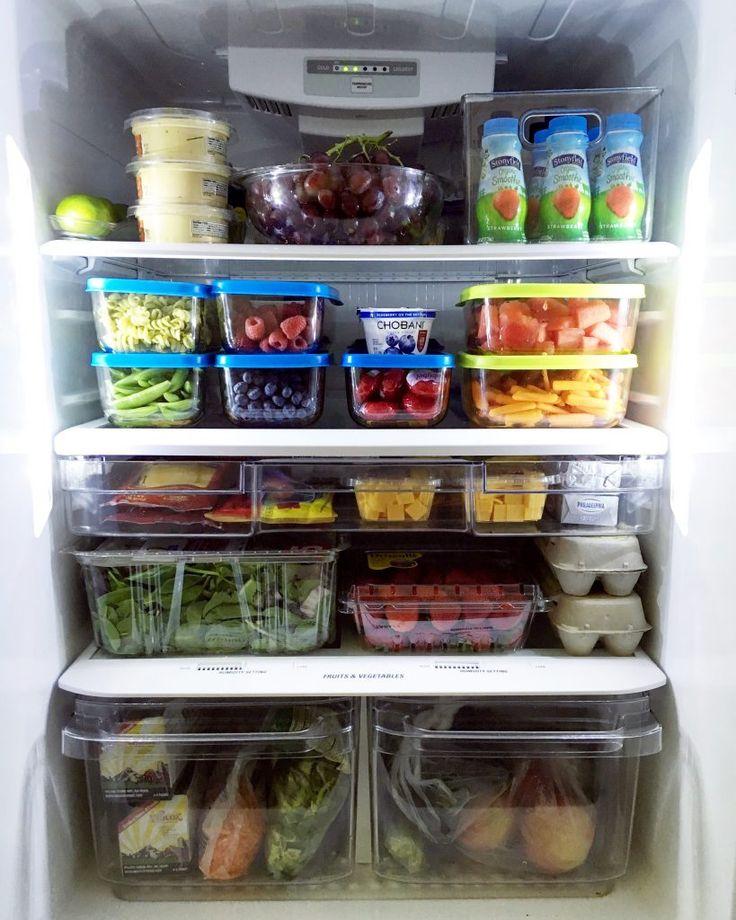 Best 25 Refrigerator Organization Ideas On Pinterest